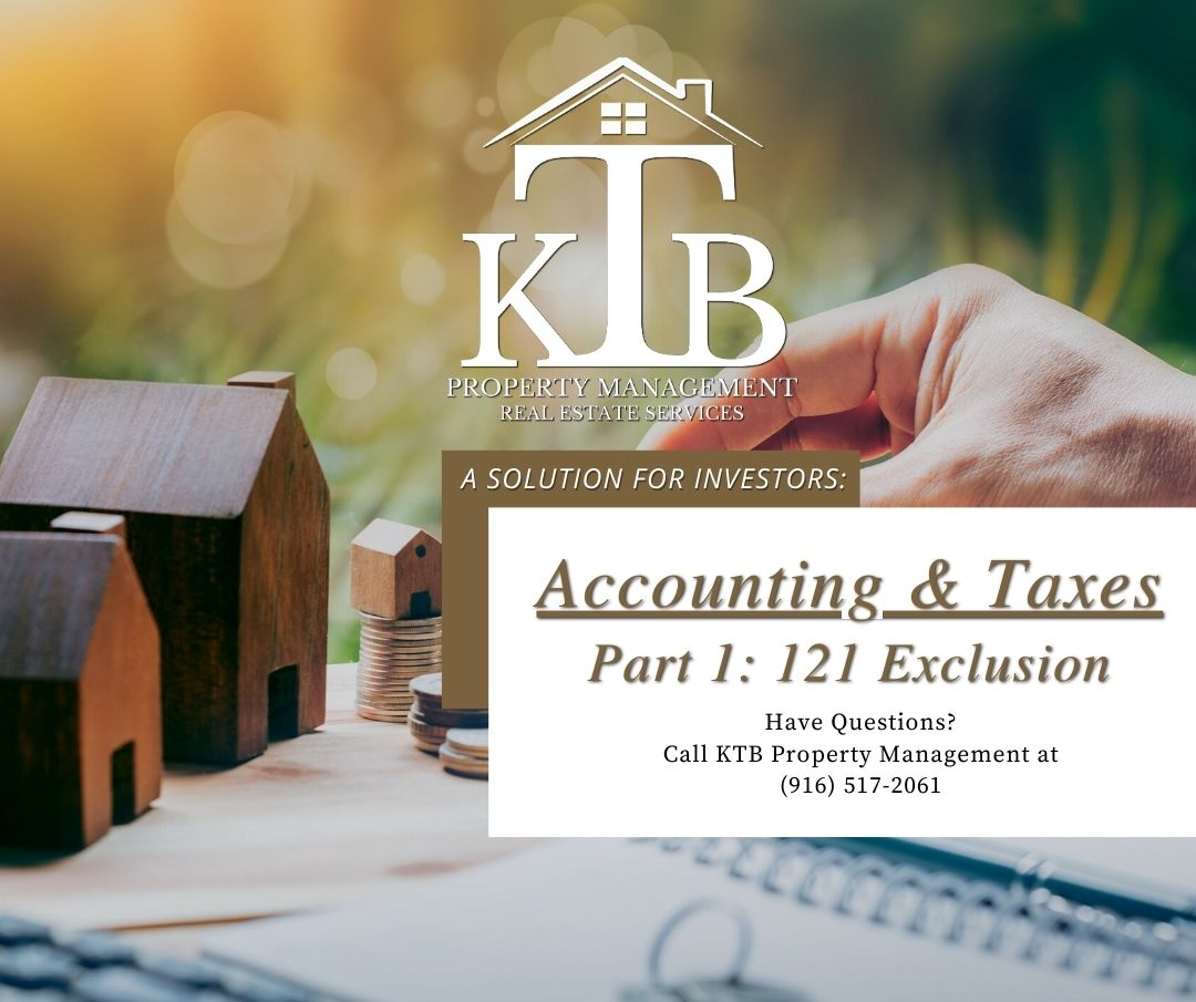 Accounting and Taxes Part 1: 121 Exclusion