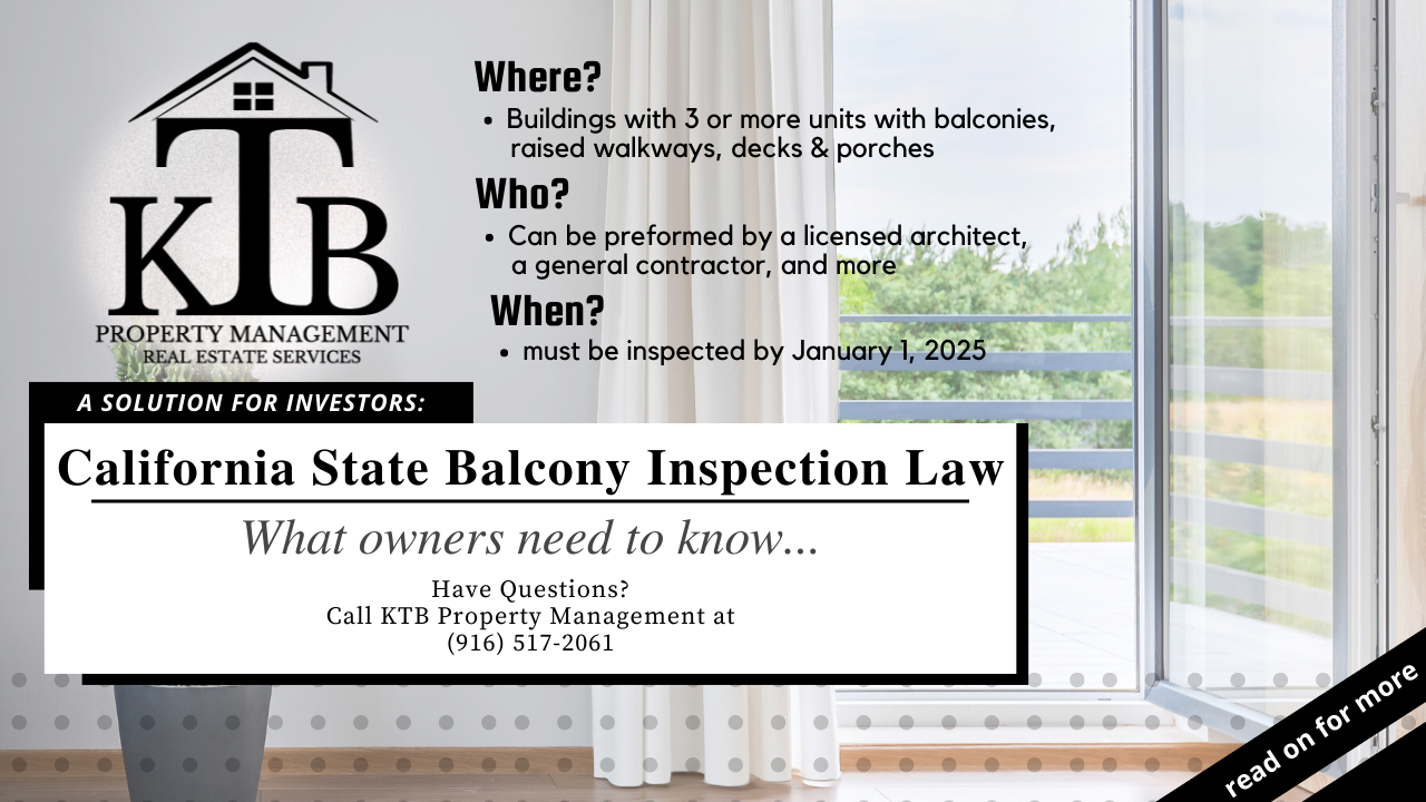 California State Balcony Inspection Law