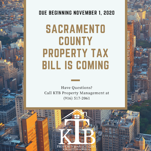 Your Sacramento County property tax bill is coming...